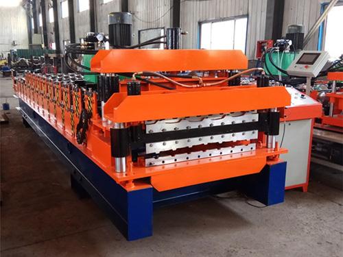 760-804琉璃瓦双层压瓦机